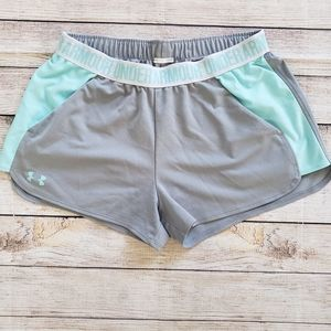 Under Armour Play Up 2.0 Shorts, Size Large